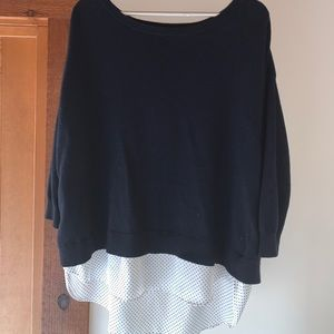 Ann Taylor Navy Sweater